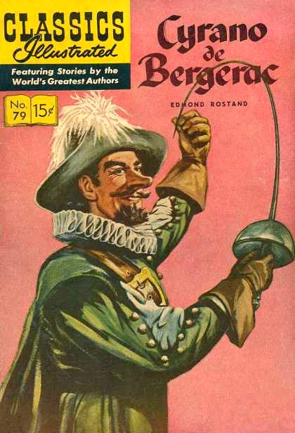 Classic Book Cover Up : Posters for cyrano de bergerac