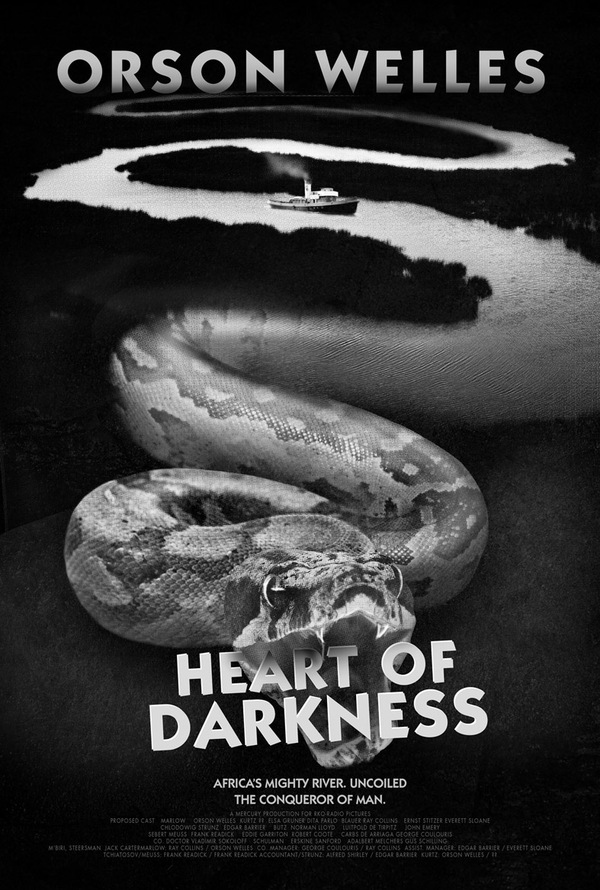 Heart Of Darkness Mercury Theater Movie Posters