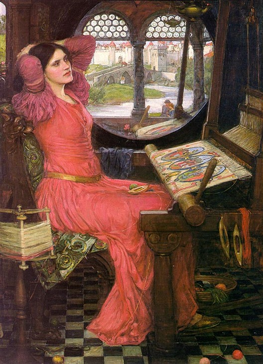 John William Waterhouse S Quot I Am Half Sick Of Shadows Quot 1916